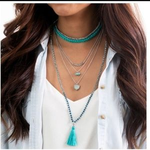 C+I Convertible Tassel Necklace/Bracelet